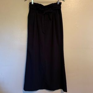 Old Navy Skirts - Old Navy | Black Wool Blend Maxi Skirt | 6